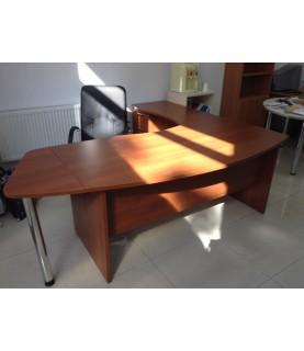 Стол руководителя 2,2 х 2 х 0,765Н (комплект КС 180, КСБ, КТП)
