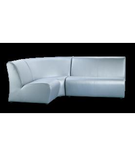 диван офисный Альфа угловой 1+угол+2