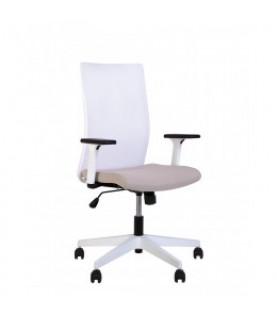 Офисное кресло AIR R NET white SL PL71