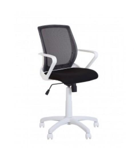 Флай белый (FLY white) GTP Tilt PL62, Офисное кресло