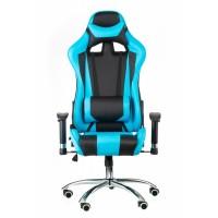 ExtremeRace black/blue Геймерское кресло