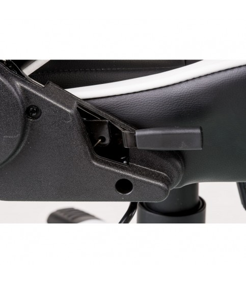 ExtremeRace black/white Геймерское кресло